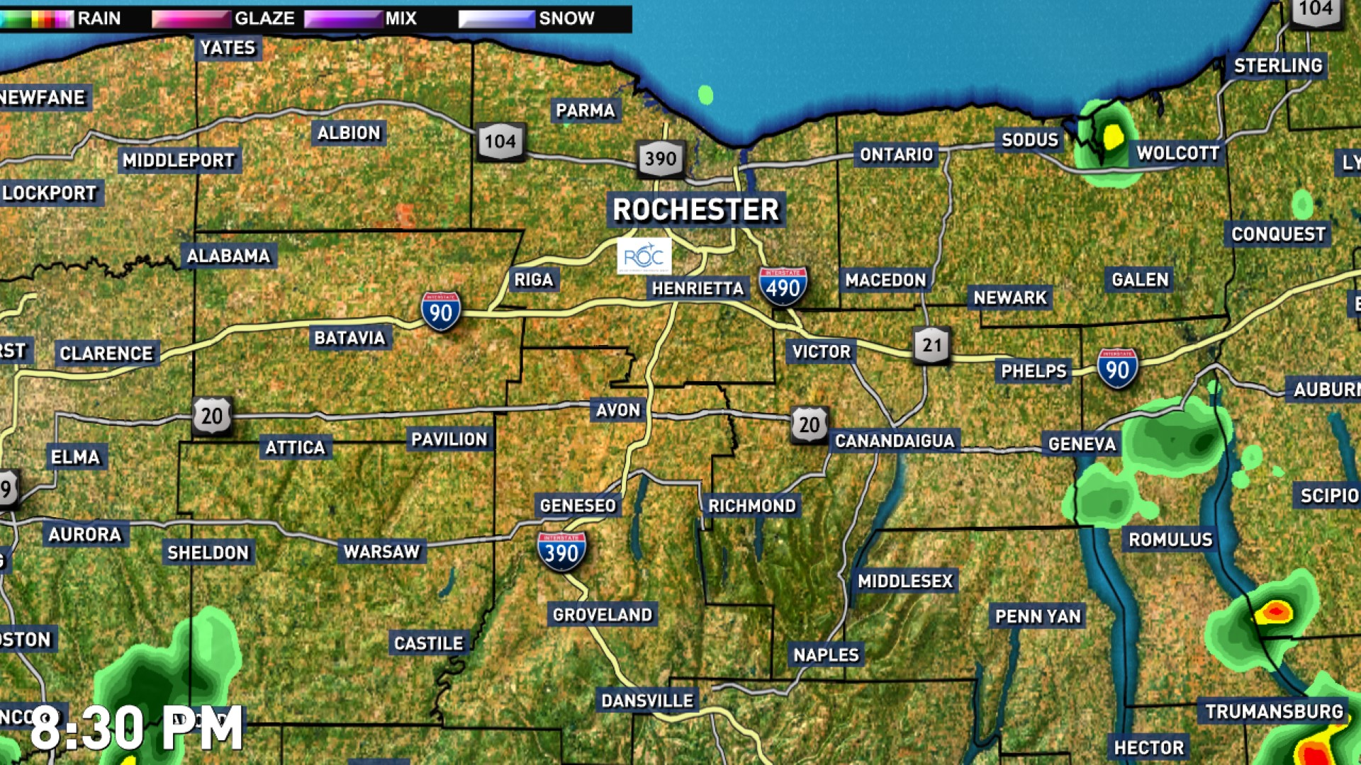 US Weather Doppler Radar Map Video March Th To March Th - Us weather radar map in motion
