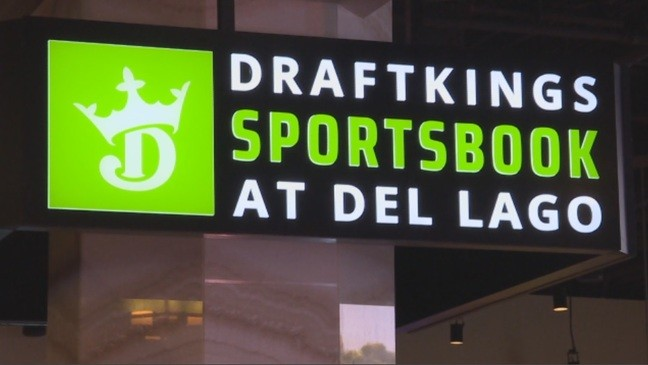 Sports betting booming at del Lago