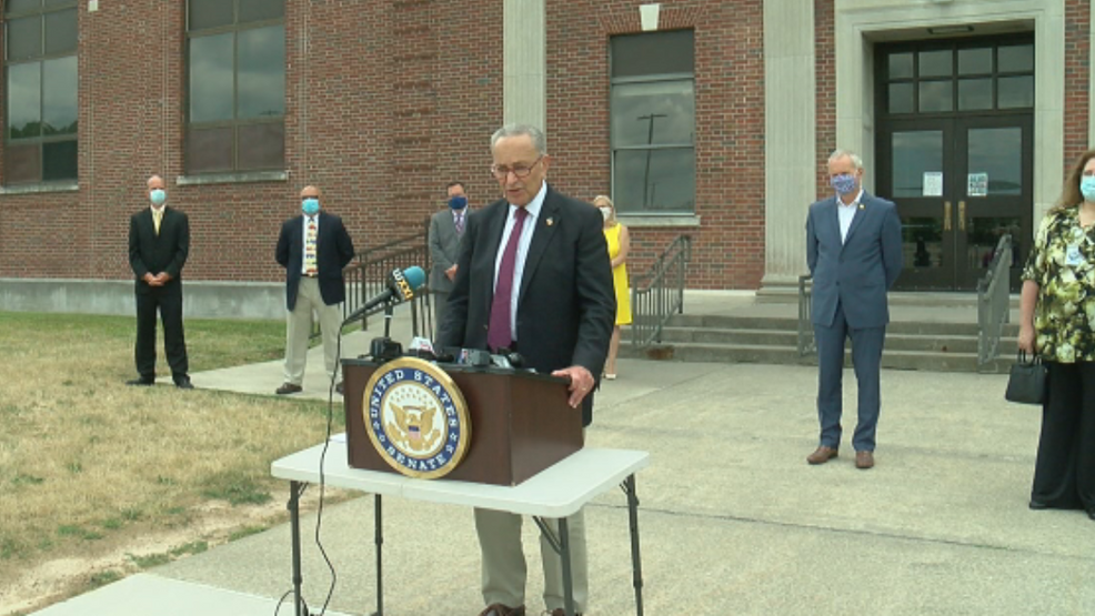 Sen. Schumer unveils plan to spend $175B to help schools reopen in the fall amid coronavirus pandemic