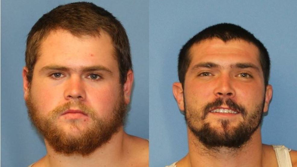 Masked men charged with conspiracy after Wayne County incident