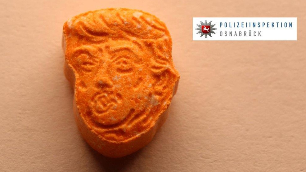 German Police Seize Thousands Of Trump Ecstasy Tablets Wham