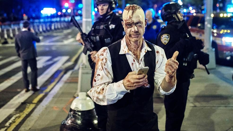 A Year After Attack, Police Out In Force For NYC Halloween ...