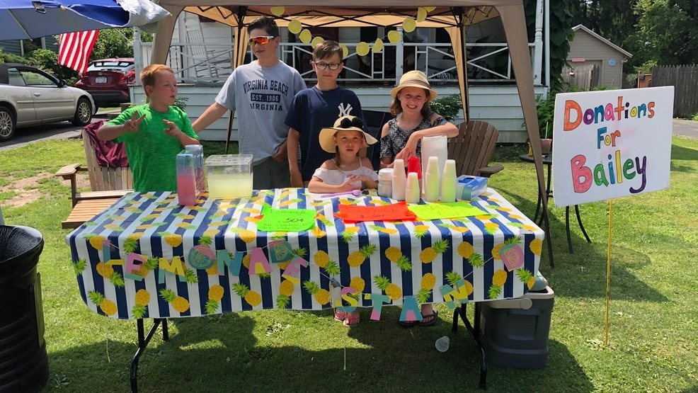 Lemonade stand raises nearly $2,000 for family of ATV crash victim