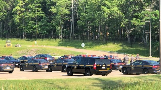Police: New York State Trooper shot and killed by school principal