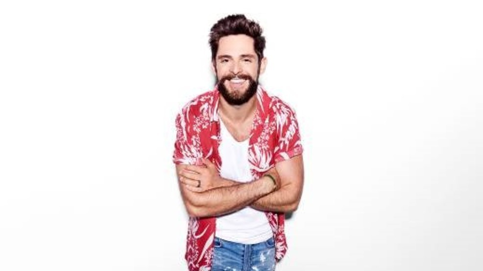 Thomas Rhett to play Darien Lake in July | WHAM