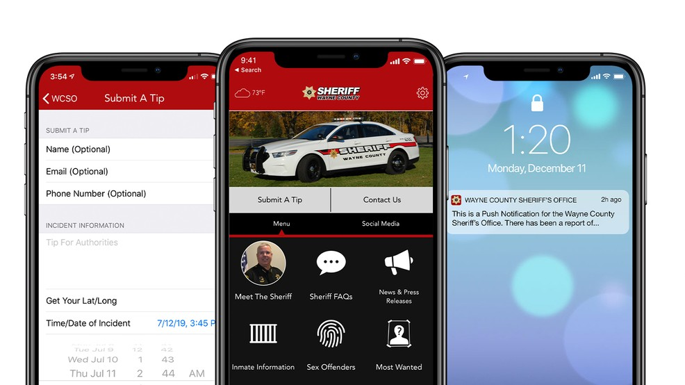 Wayne County Sheriff's Office launches mobile app
