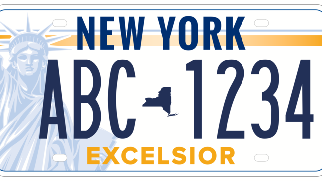 New license plate designs up for voting in New York