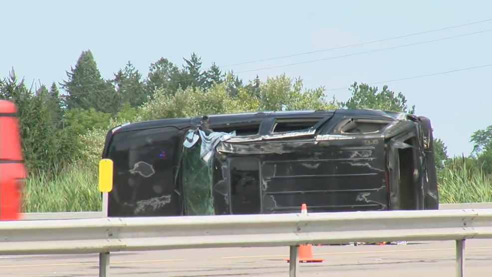 Two ejected from crash along Thruway near Exit 42 on Thursday